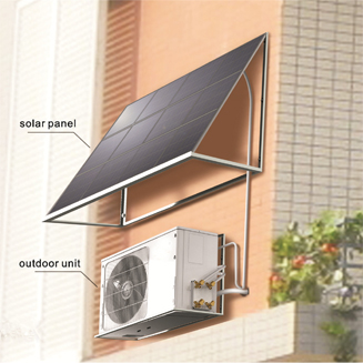 12V DC 6000btu 100% off Grid Solar Air Conditioner with Panasonic Compressor and Motors