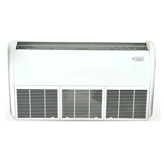 Floor Ceiling Type Hybrid Solar thermal Air Conditioner with Vacuum Tubes Saving 30%-50%