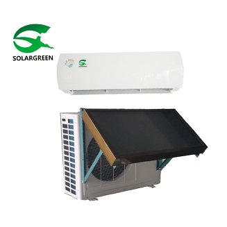Hybrid Solar thermal Air Conditioner with flate plate Saving 30%-50%